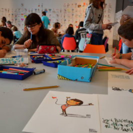 The Big Draw festival in Barcelona 2016
