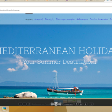 Mediterranean Holidays- Website from scratch