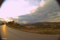 On the road to Mosxopotamos/North Greece