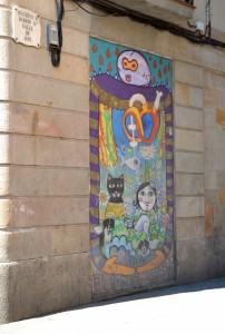 Street art in Barcelona May '16